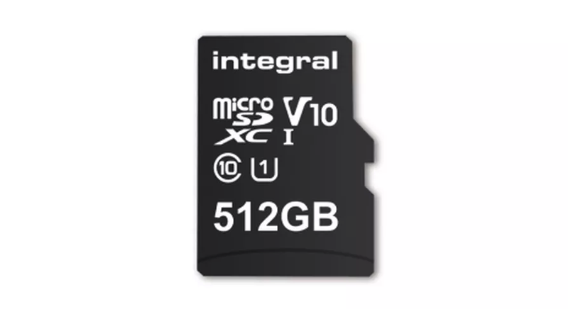 Illustration for article titled ¿Sin espacio para tus selfies?La nueva tarjeta microSD de mayor capacidad en el mundo tiene 512GB de almacenamiento