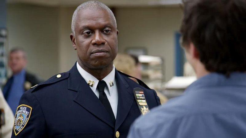 Brooklyn Nine-Nine's Captain Holt is stern but fair.