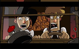 Illustration for article titled Penny Arcade Adventures Episode Two Straight Buggin' On PS3