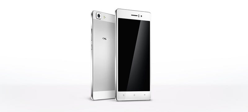 Illustration for article titled Oppo's New R5 Android Is Just 4.85mm Thick