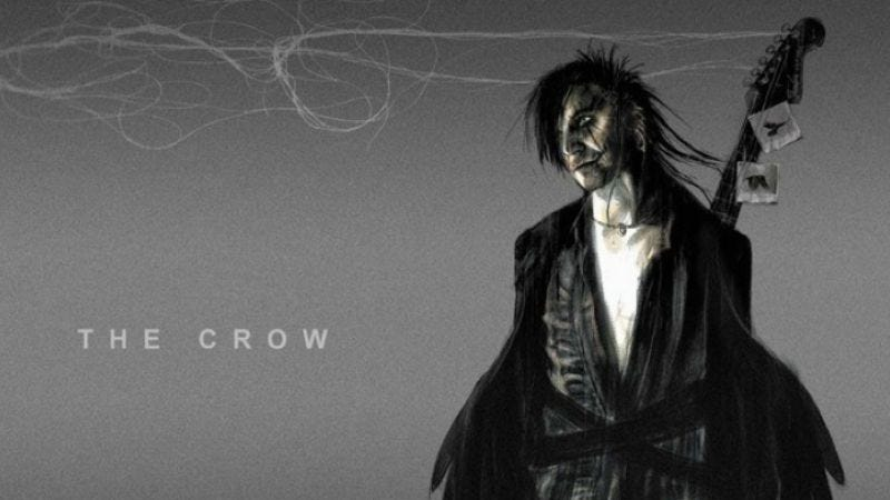 Illustration for article titled This is what Bradley Cooper might have looked like as The Crow