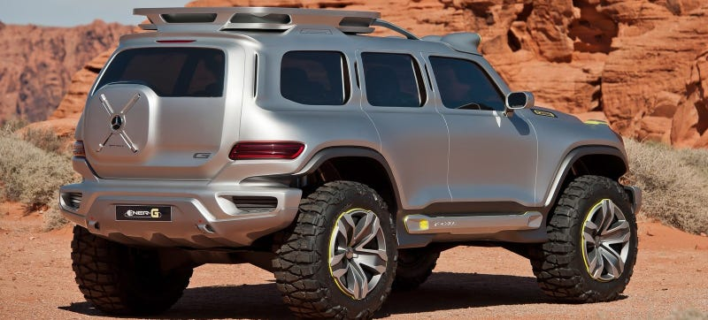 Illustration for article titled Mercedes Is Reportedly Doing A Baby G-Class So You Can Ball On A Budget