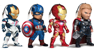 Illustration for article titled These Cutesy Age Of Ultron Toys Are Actually Phone Charms