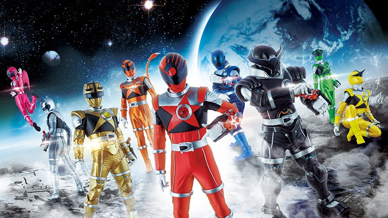 Say hello to your future Power Rangers, they're bloody weird.