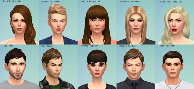 Sims 4 Celebrity Sims CC   Spring4sims