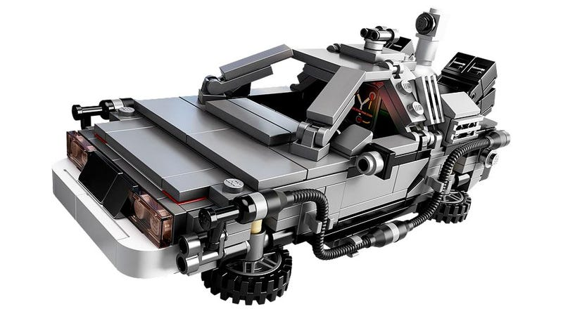 Illustration for article titled You Can Finally Buy Your BTTF DeLorean Lego Set Today