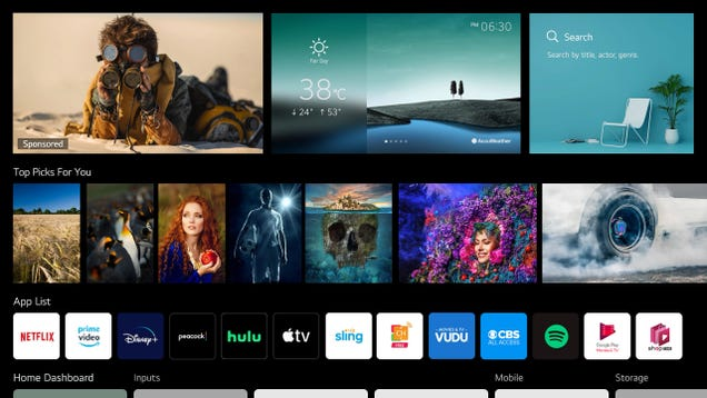 OLED King LG Says It Will License webOS to Other TV Makers