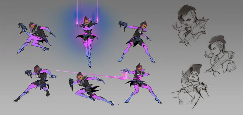 Illustration for article titled On The Origins Of Sombra