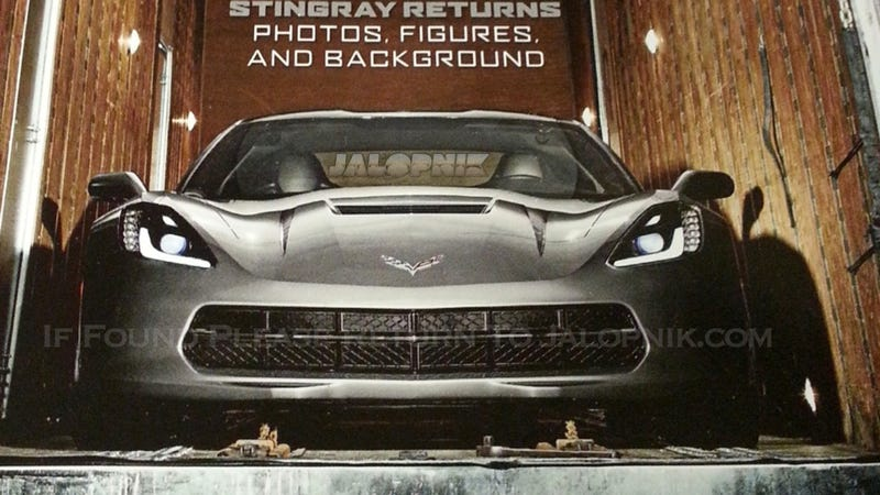 Illustration for article titled New Corvette: This Is It (UPDATE: MORE PICTURES)