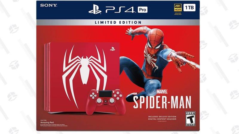Pack de PS4 Pro con Spider-Man   $400   GamestopGráfico: Shep McAllister