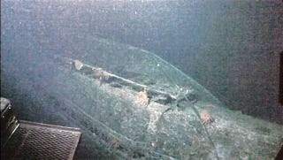 Illustration for article titled A sunken WWII-era Japanese 'mega sub' has been found near Hawaii