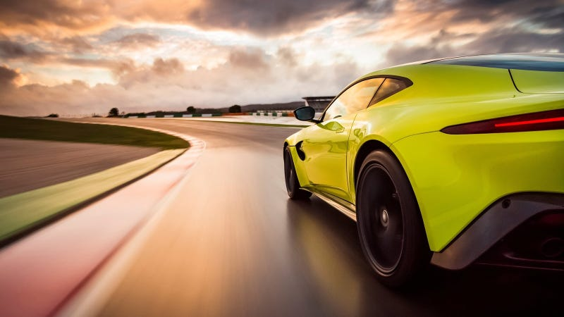 Illustration for article titled The Aston Martin Vantage's Awesome Highlighter Green Is Actually Called 'Lime Essence'