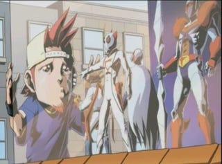 Illustration for article titled Playing The Tatsunoko Vs. Capcom Credits