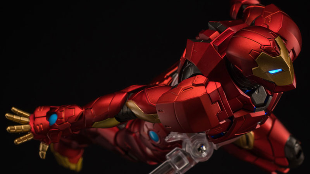 iron man s latest suit of armor makes for an amazing action figure