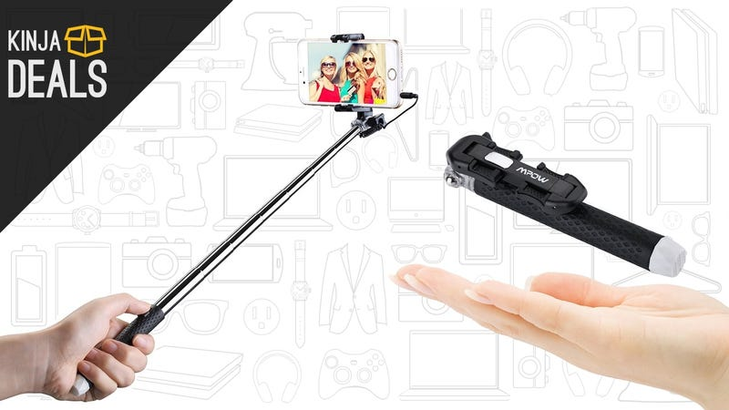 Illustration for article titled Wrap Up Your Stocking Stuffer Shopping With $6 Selfie Sticks