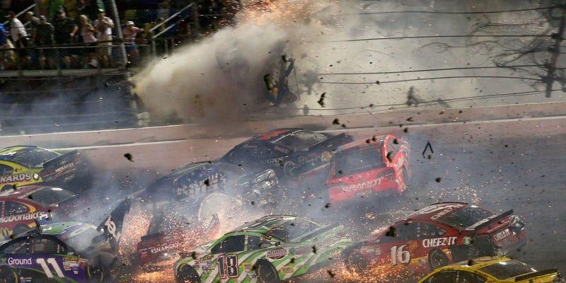 Illustration for article titled Does NASCAR Have The Bravest Fans In Motorsports?