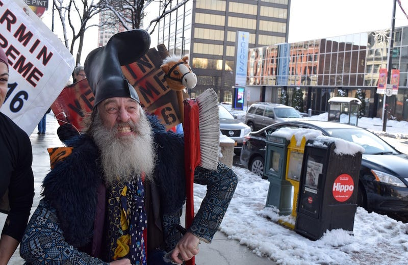 Illustration for article titled Meet Vermin Supreme, Pro-Pony Presidential Candidate and My New Friend