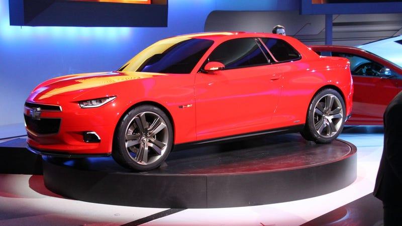 Illustration for article titled Chevrolet Code 130R Concept: Detroit Auto Show Live Photos