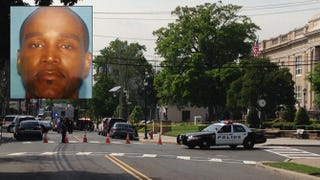 Lyndhurst, N.J., police gunned down Kevin Allen at the city's public library May 29, 2015.NBC 4 New York screenshot