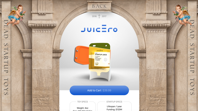 Meet the Baby Juicero You Didn't Know You Needed