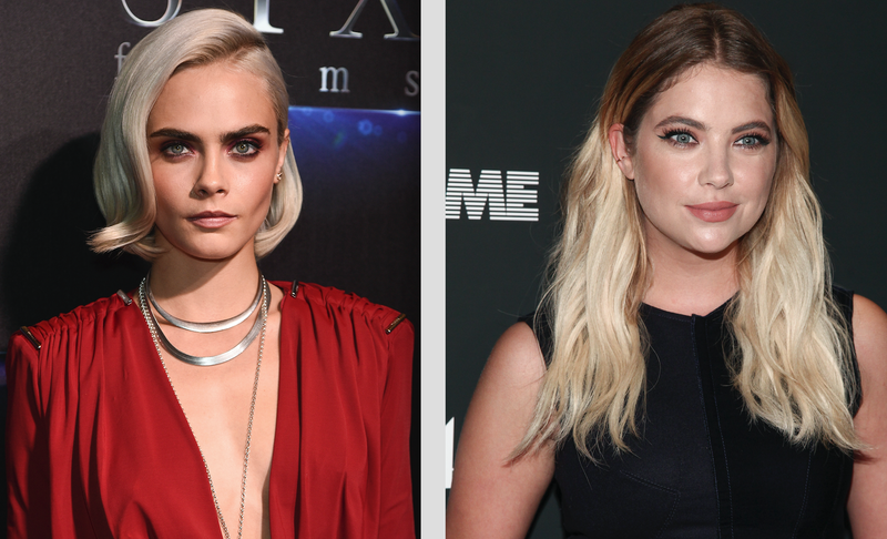 Illustration for article titled Cara Delevingne and Ashley Benson Reportedly Engaging in Summer Romance Behavior