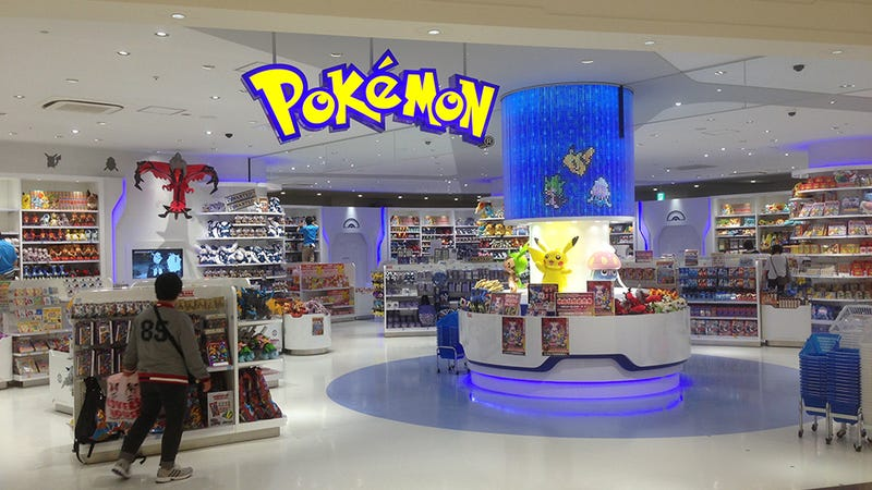 Its An Understatement To Say That Pokemon Is Popular In Japan How You Might Ask So It Has Own Centers Look As If