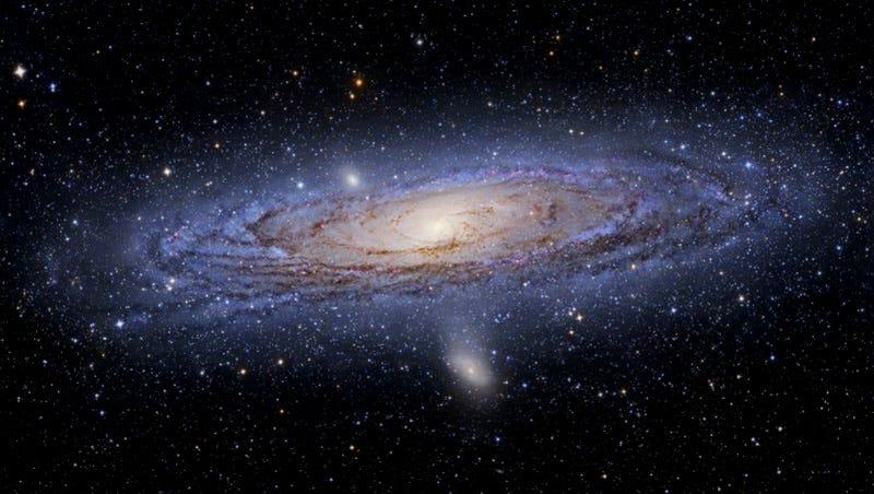 La Galaxia Andrómeda. Foto: Tony Hallas / NASA