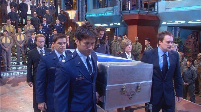 Illustration for article titled Stargate: Atlantis Rewatch - Season 3, Episode 17Sunday& Episode 18Submersion