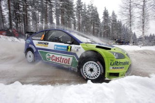 Illustration for article titled 2007 Uddeholm Swedish Rally, First Leg