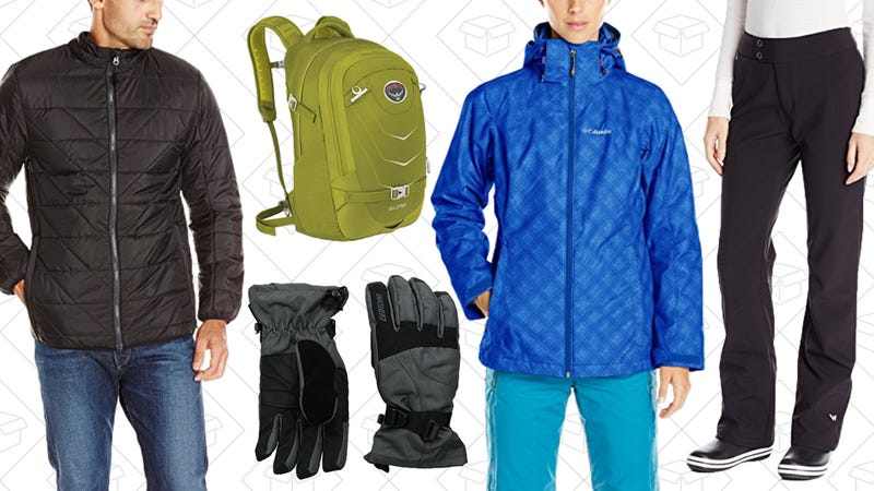 Winter Packs and Apparel Gold Box | Amazon