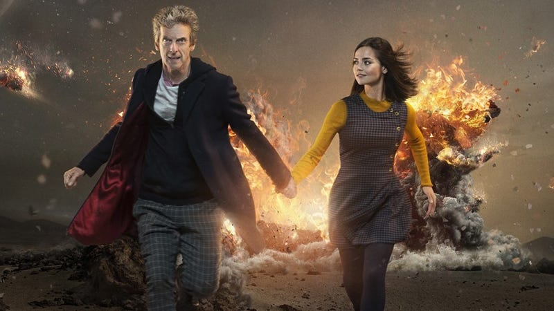 A promotional image for season 9 of Doctor Who.