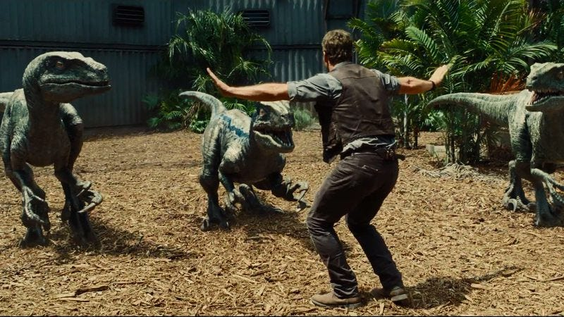 """Illustration for article titled Director of Jurassic World actually agrees with Joss Whedon about that """"sexist"""" clip"""