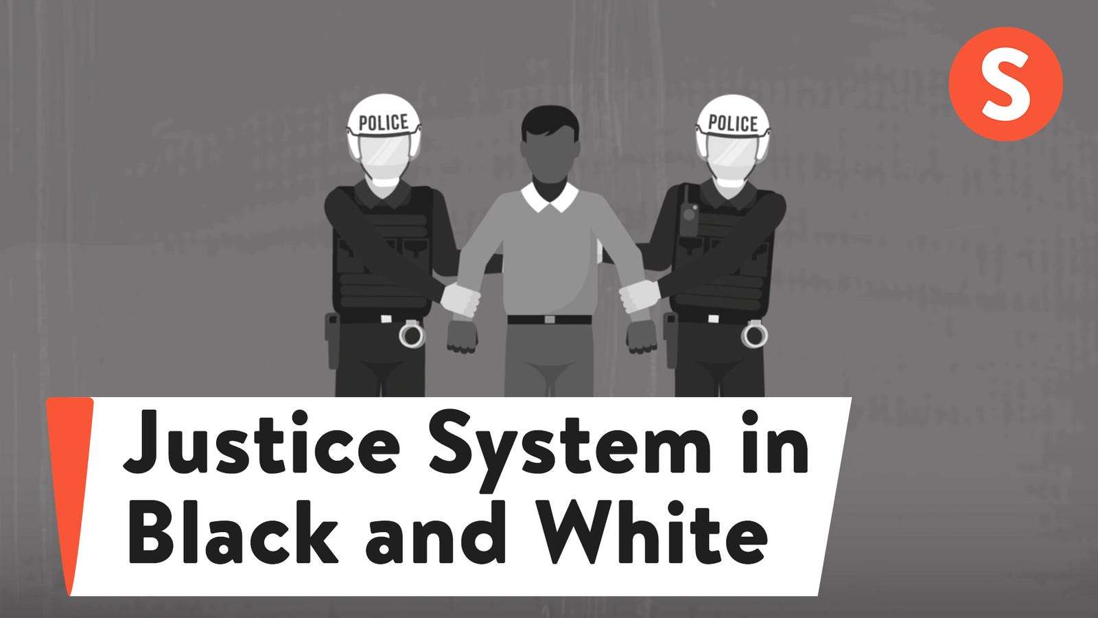 The Criminal Justice System in Black and White