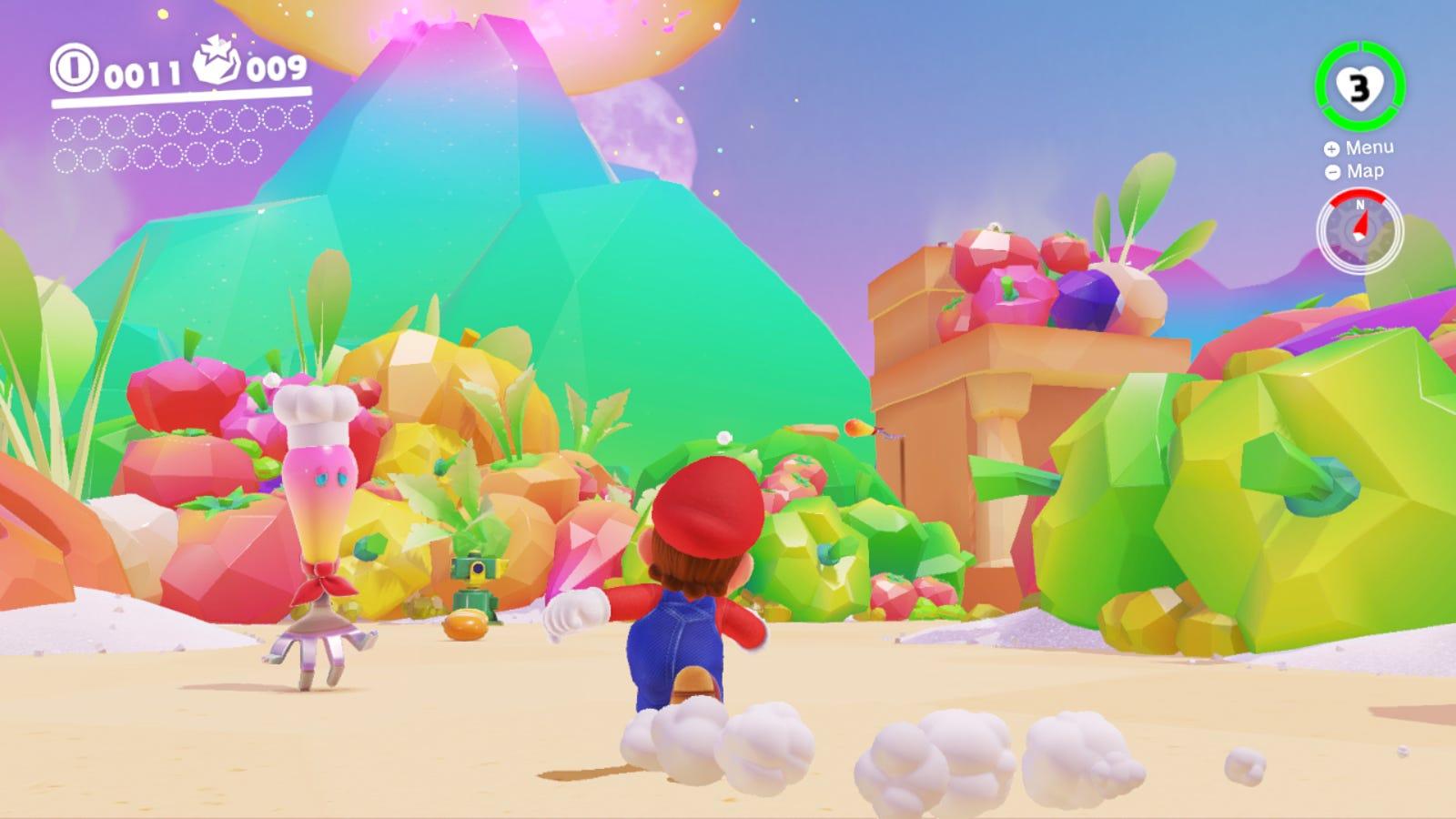 Super Mario Odyssey Redefines The Sandbox Genre Gizmodo Uk