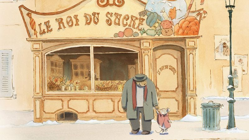 Illustration for article titled The Oscar-nominated Ernest & Celestine is a hand-drawn animated delight