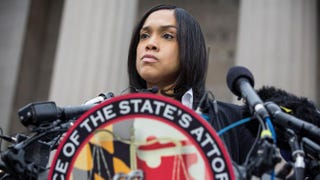 Baltimore City State's Attorney Marilyn J. Mosby announces in BaltimoreMay 1, 2015, that criminal charges will be filed against six Baltimore police officers in the death of Freddie Gray.Andrew Burton/Getty Images