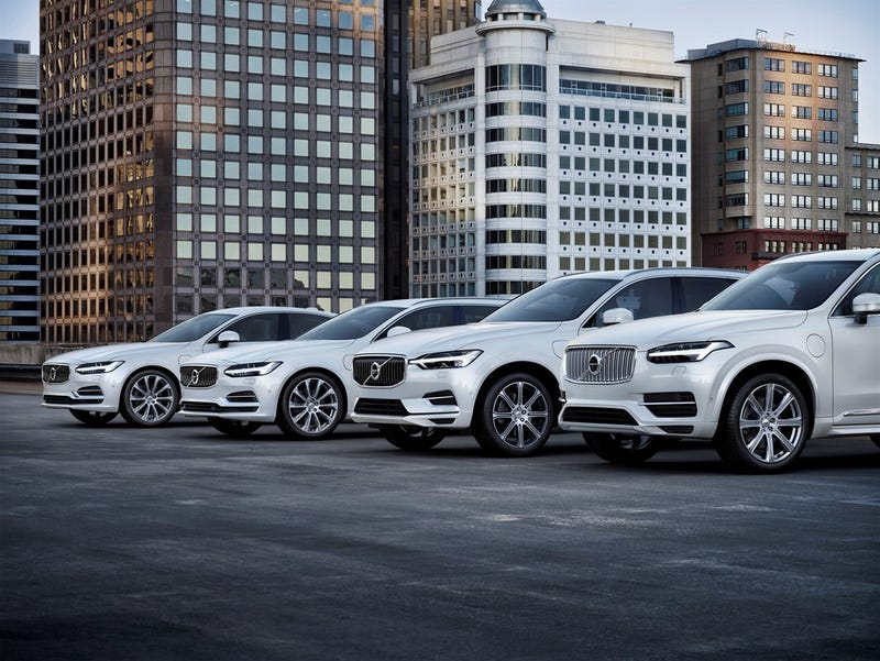 Illustration for article titled All new Volvo models from 2019 will be hybrid or EV