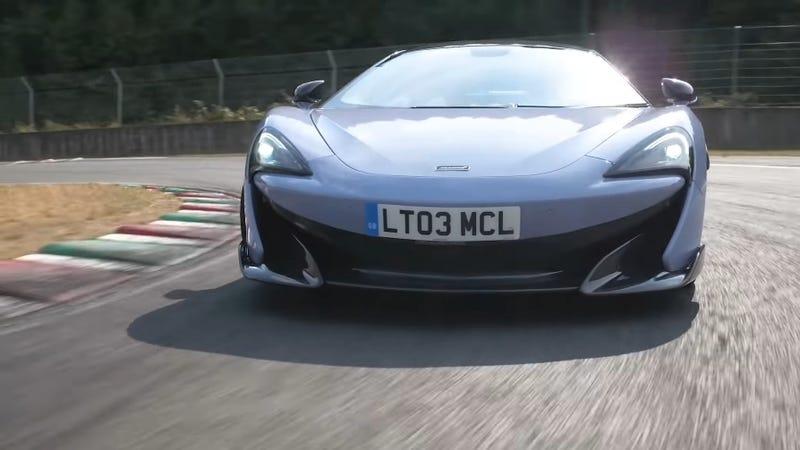 Illustration for article titled McLaren 600LT a Good Car, Says Chris Harris