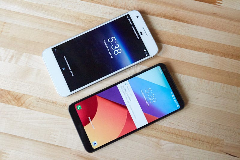 Here's Why the Displays in New Phones Are So Weird and Wide