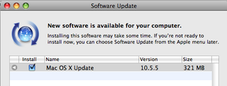 Mac OS X 10 5 5 Available For Download Now