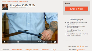 Illustration for article titled Develop Your Kitchen Knife Skills with This Free Online Course