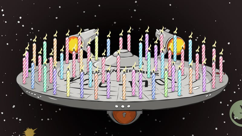 Illustration for article titled The Best Ways To Honor The 50th Anniversary Of Star Trek