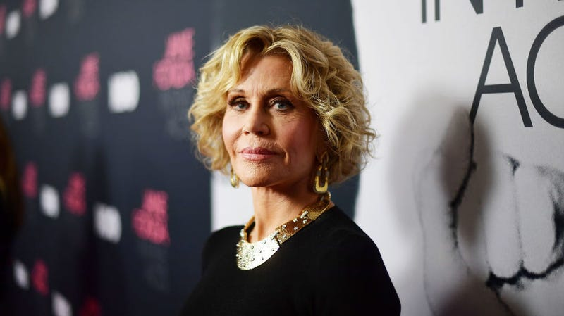 Illustration for article titled Jane Fonda to Whiny Harassers Who Lose Their Job: 'Sweep the Floor at Starbucks Until You Learn'