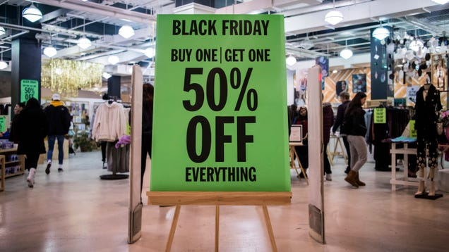 Stay Home on Black Friday
