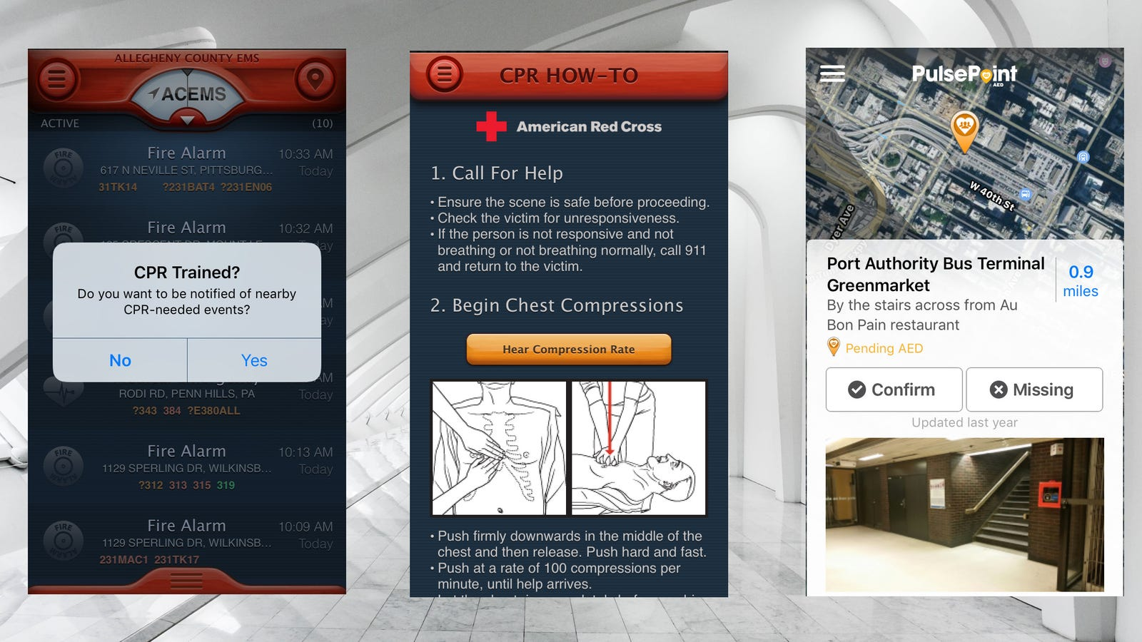 Put Your Cpr Training To Use With This App
