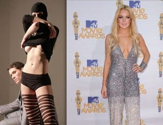 Illustration for article titled Those Are Not Lindsay Lohan's Boobs