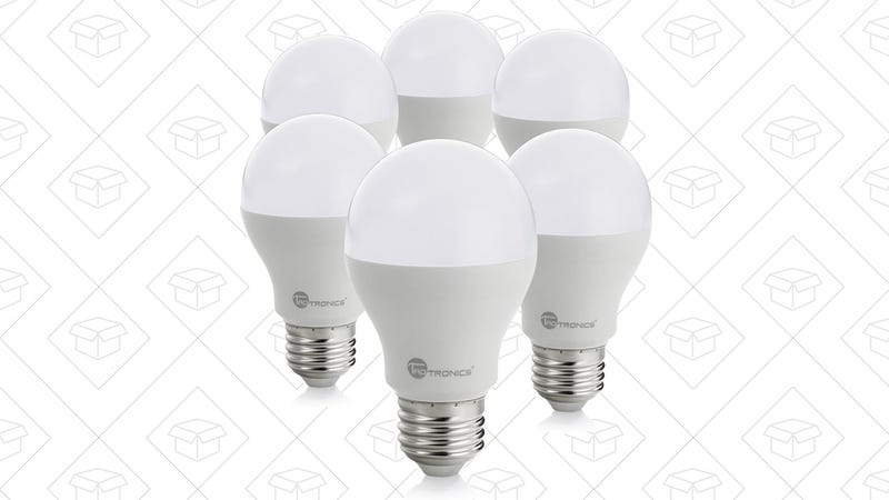 6-Pack TaoTronics LED Bulbs, $12 with code R8LJ6AND
