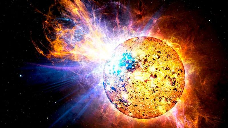 Illustration for article titled Logran captar el mayor destello de una estrella hasta ahora