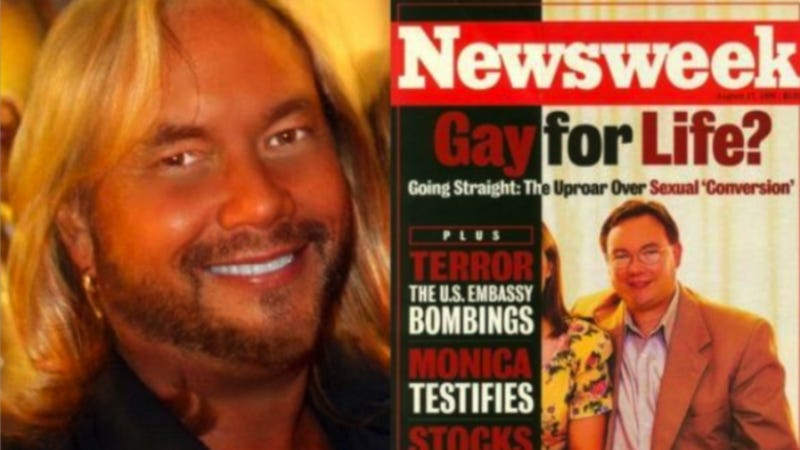 Illustration for article titled Surprise! 'Ex-Gay' Conversion Therapy Poster Boy Is Still Gay
