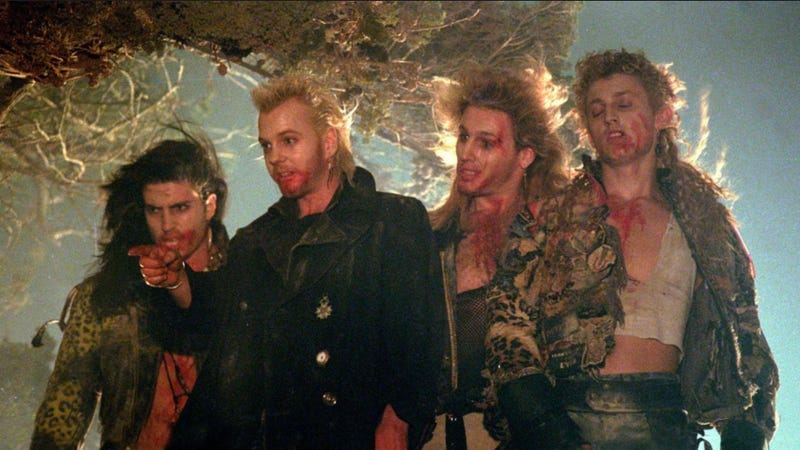 These guys aren't the best part of The Lost Boys. All Image: Warner Bros.